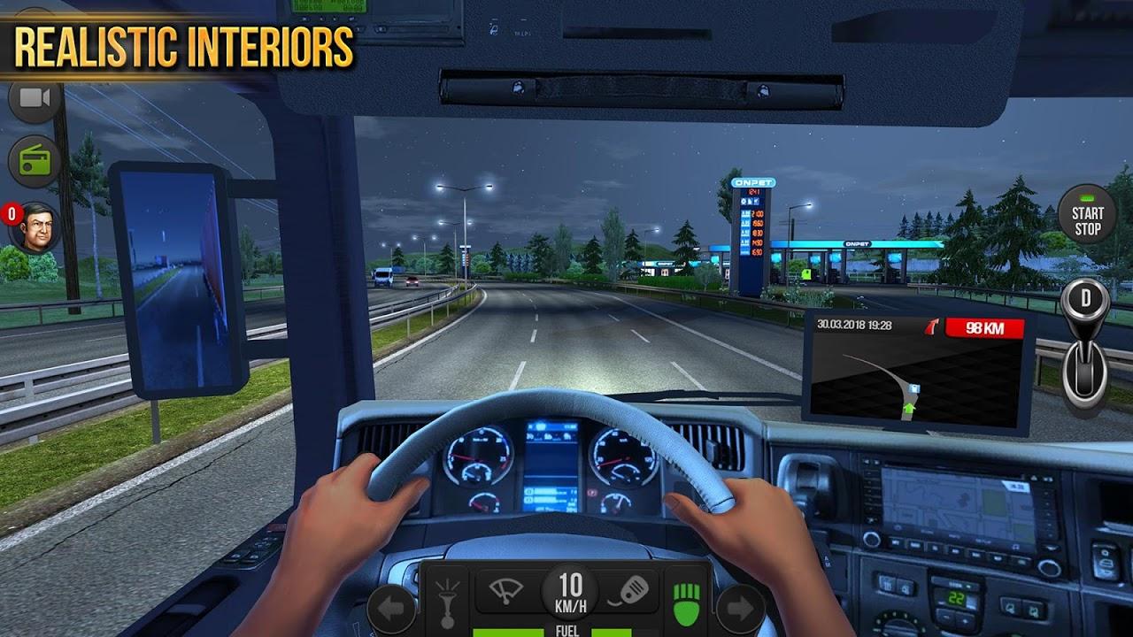 Android Truck Simulator 2018 : Europe Screen 3