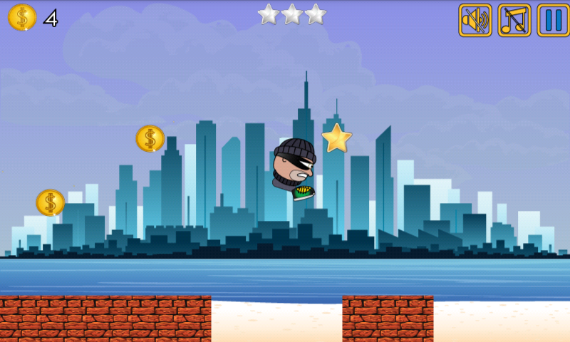 Android Thief Run Screen 5