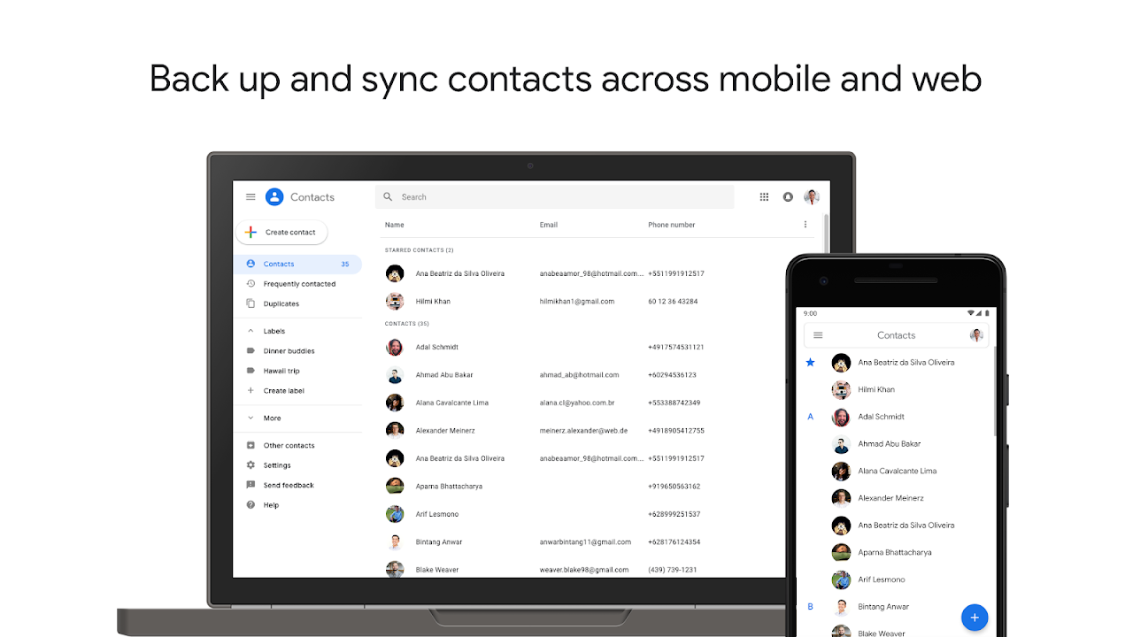 Contacts 3.5.51.247103087 Screen 6