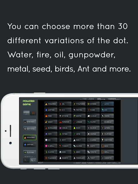 Powder Game 3.6.0 Screen 5