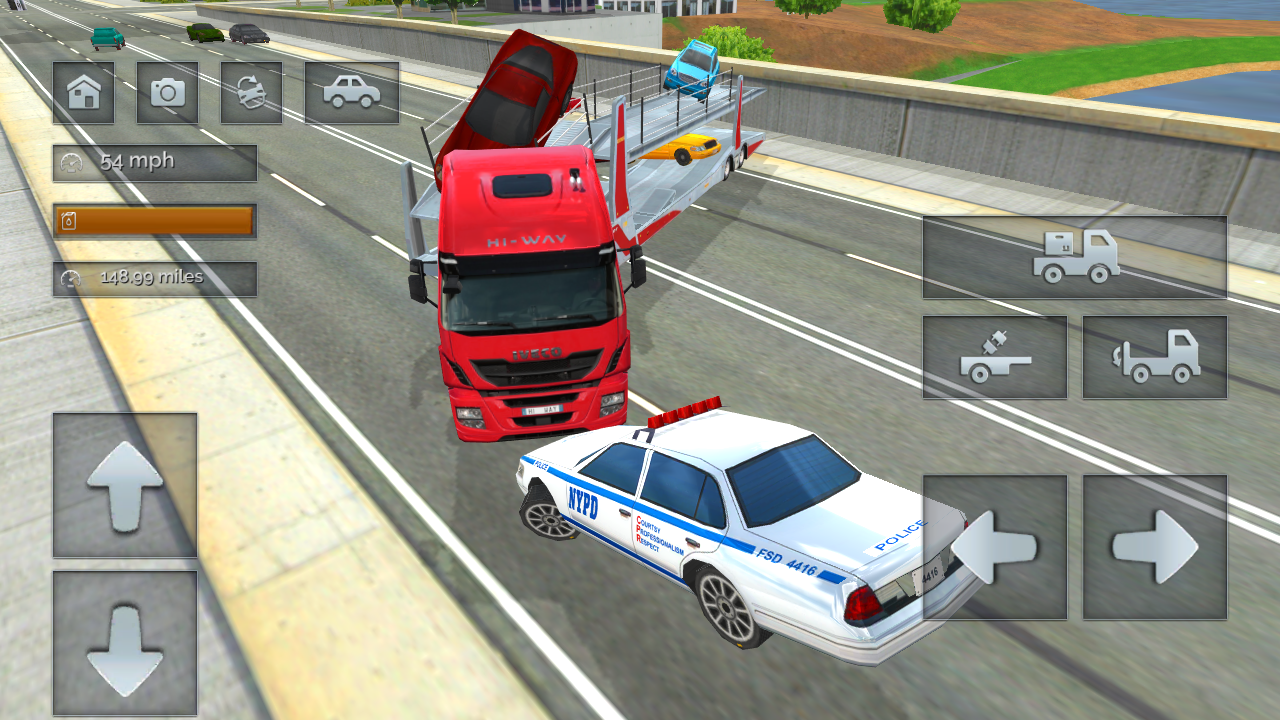 Android Truck Driver Simulator Pro Screen 4