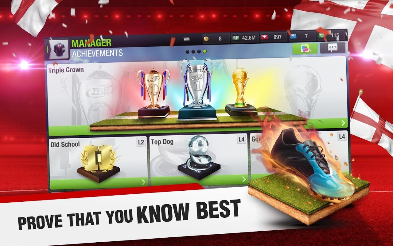 Android Top Eleven 2018 - Be a Football Manager Screen 9