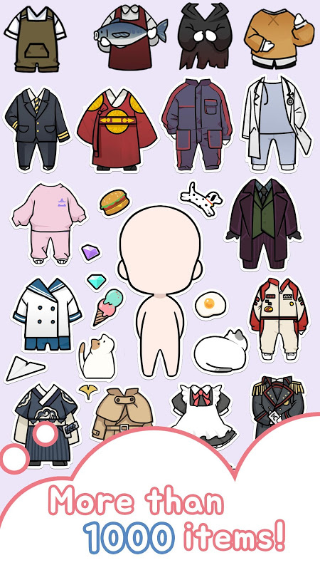 Android Oppa doll Screen 1
