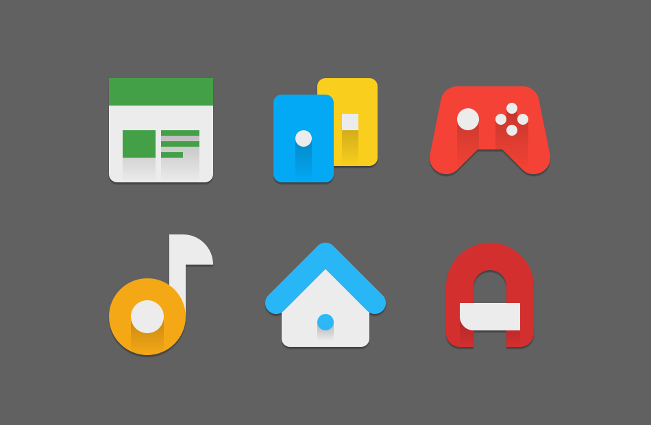 Android MINIMALE Icon Pack Screen 4