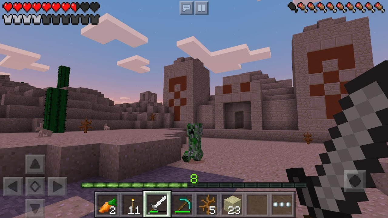 Android Minecraft: Pocket Edition Screen 1