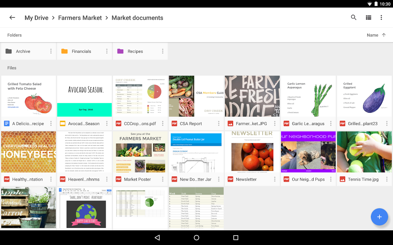Android Google Drive Screen 14
