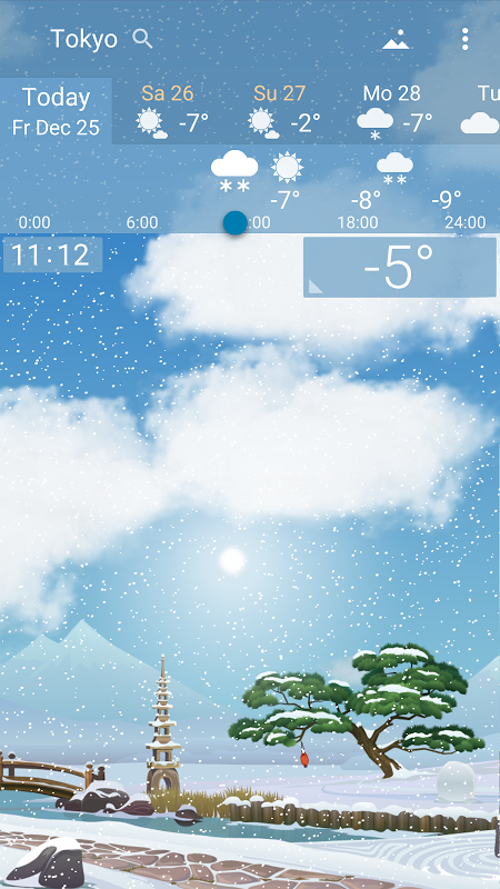 Precise Weather YoWindow 1.33.17 Screen 4