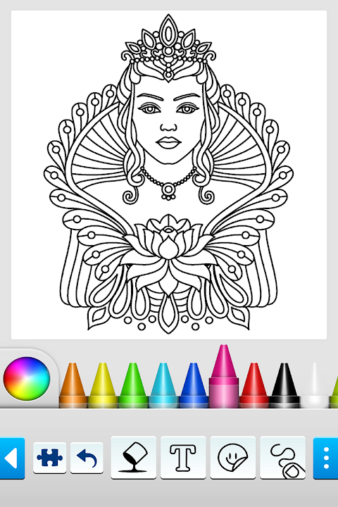 Mandala Coloring Pages 10.2.0 Screen 2
