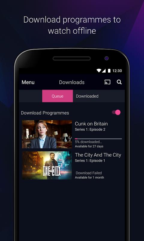 Android BBC iPlayer Screen 4