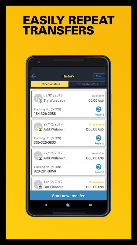 Western Union US - Send Money Transfers Quickly 6.0 Screen 4