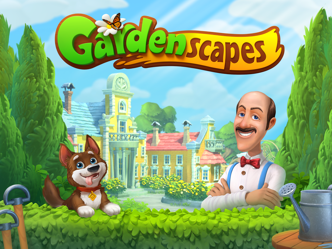 Android Gardenscapes Screen 3