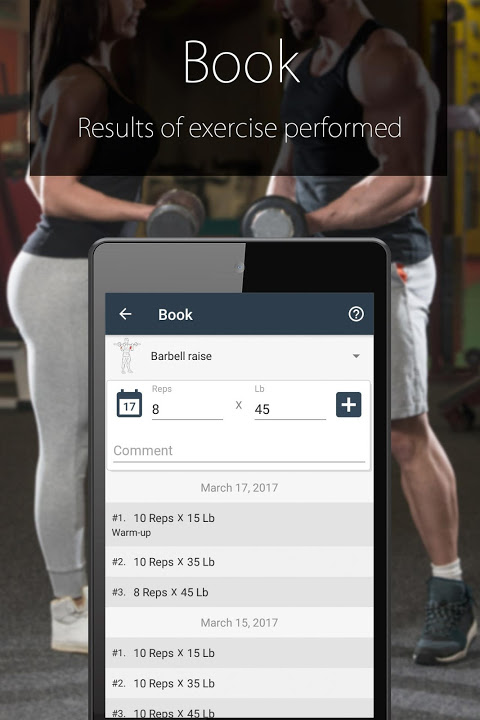 Android Fitness Coach FitProSport Screen 5