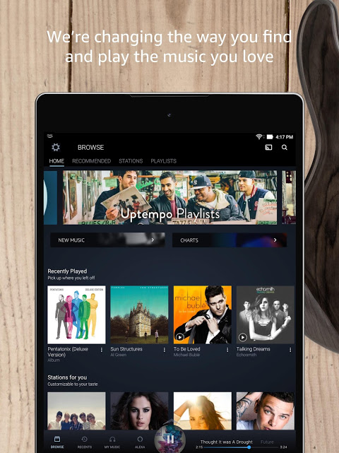 Android Amazon Music Screen 8