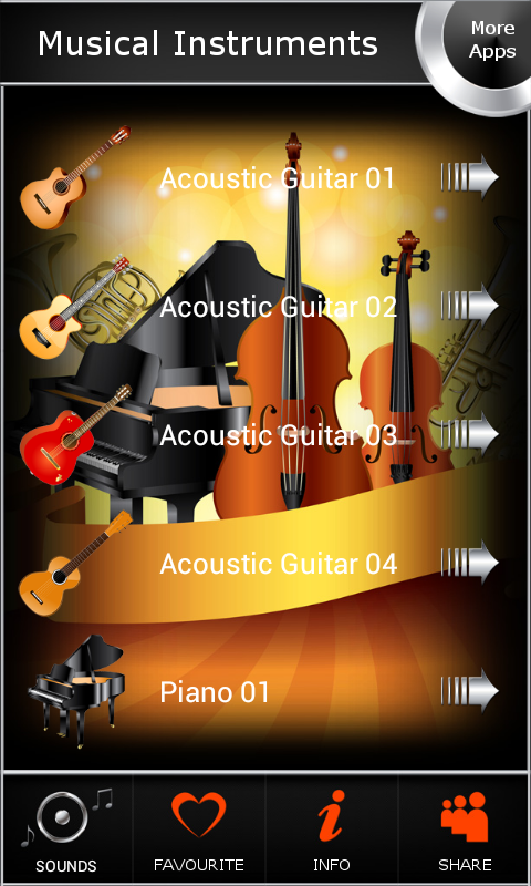 Musical Instruments 1.8 Screen 1