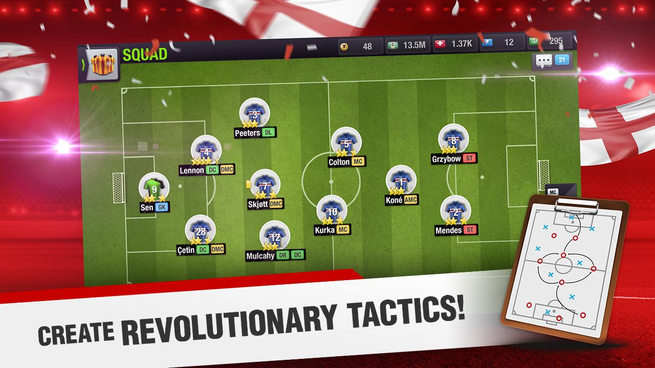 Android Top Eleven 2018 - Be a Football Manager Screen 3