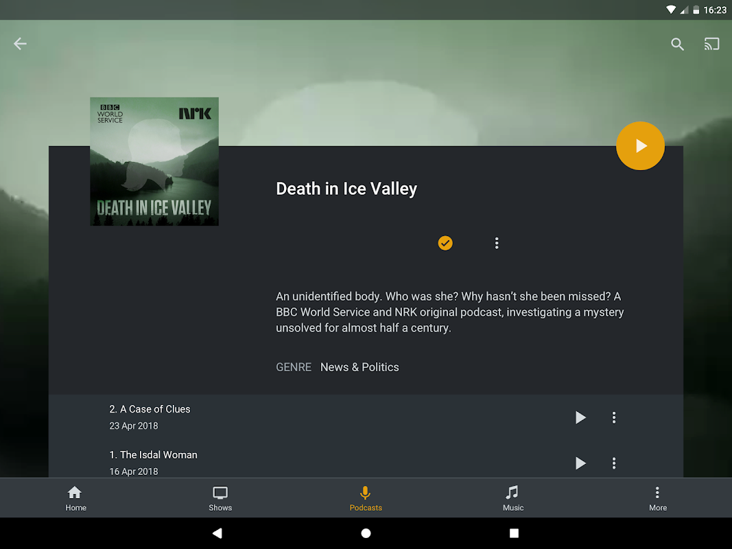 Android Plex Screen 8