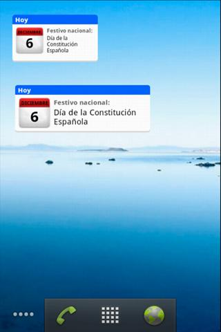 Android Calendario Laboral Screen 3