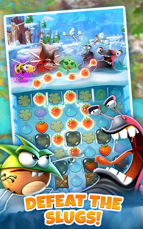 Android Best Fiends - Puzzle Adventure Screen 6