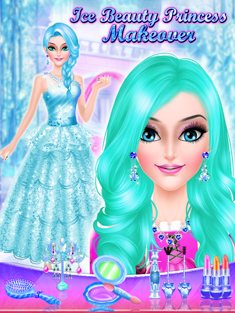Ice Beauty  Princess Makeover 1.0 Screen 2