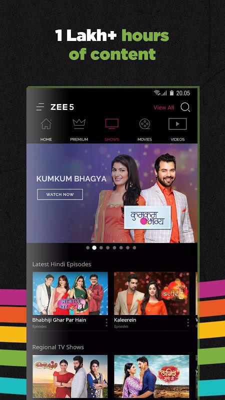 ZEE5 - Movies, TV Shows, LIVE TV & Originals 11.2.155 Screen 3