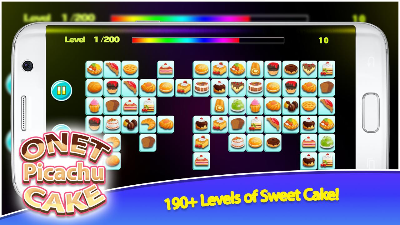 Onet Picachu Cake 1.0.0 Screen 3