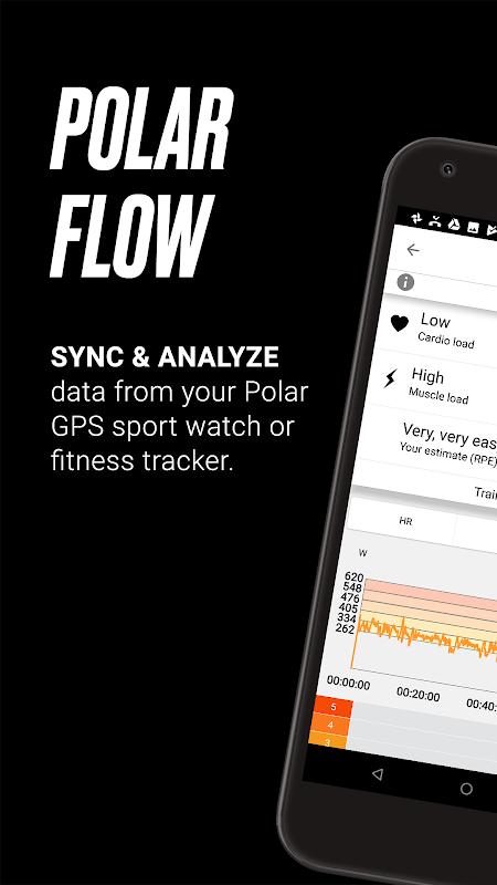 Polar Flow – Sync & Analyze 3.8.1 Screen 4