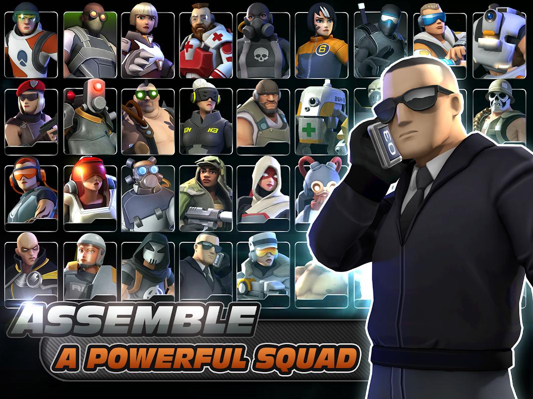 Alpha Squad 5: RPG & PvP Online Battle Arena 1.5.51 Screen 4