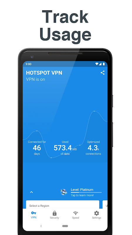 Hotspot VPN - Free, Unlimited, Fast, and Secure! 6.3.1008 Screen 11