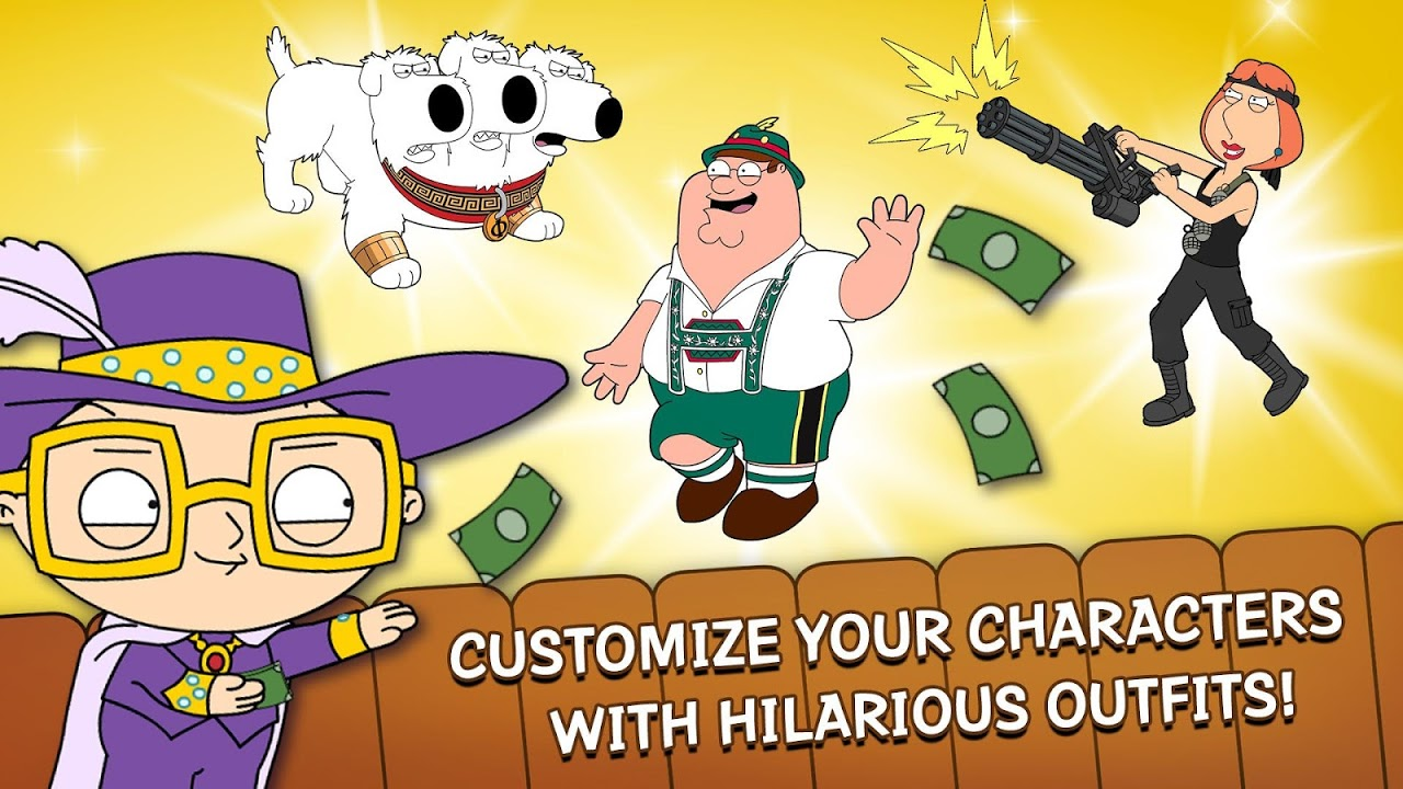 Android Family Guy The Quest for Stuff Screen 3