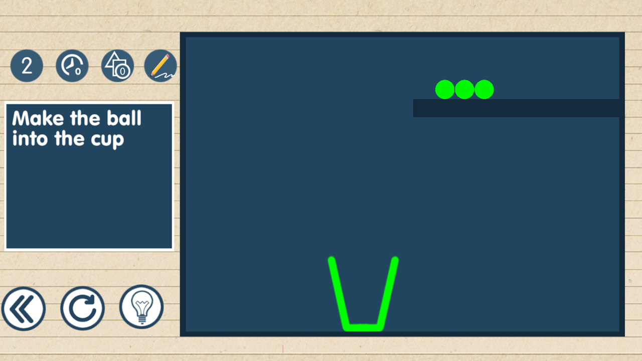 Brain on Line vs Physics Puzzle 1.0.9 Screen 2