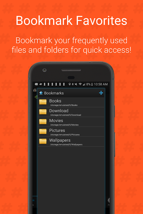 Android Root Browser (File Manager) Screen 3