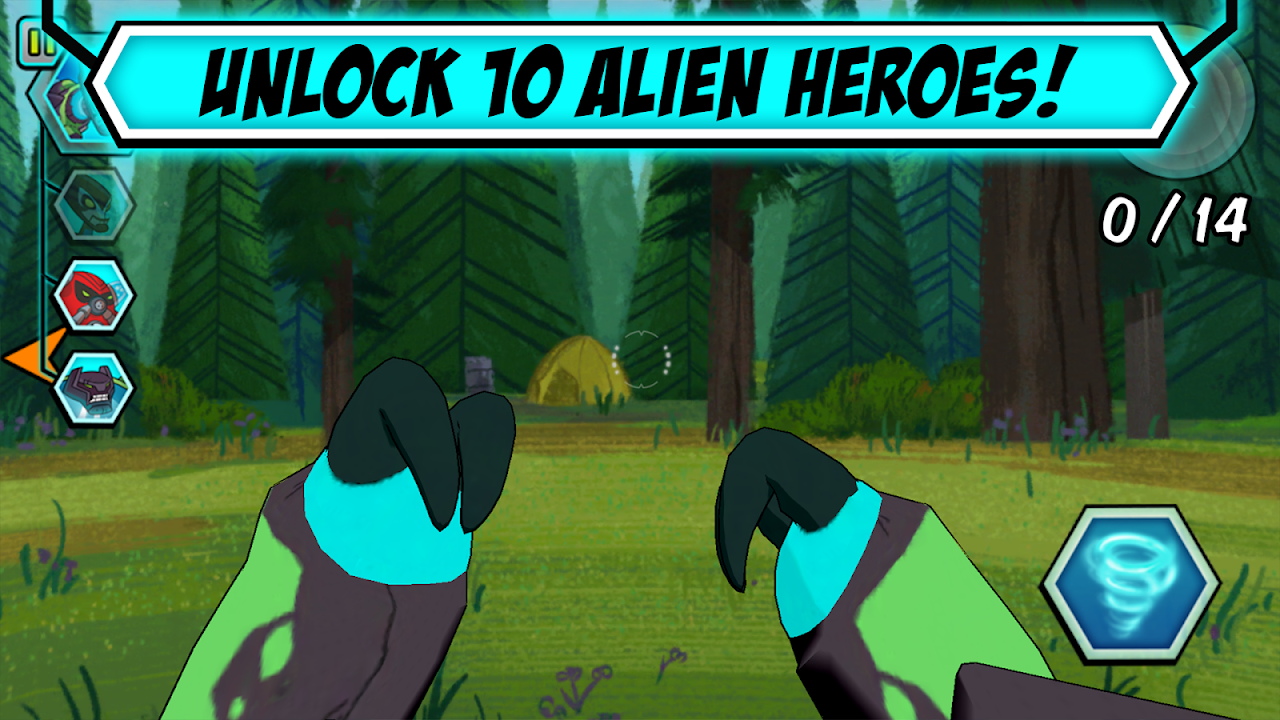 Ben 10 Alien Experience 2.0 Screen 3