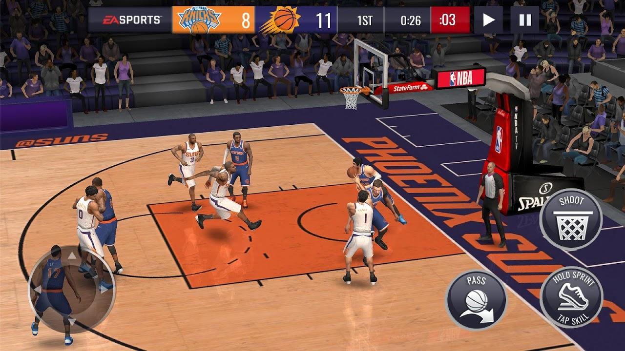 NBA LIVE Mobile Basketball 4.0.10 Screen 2