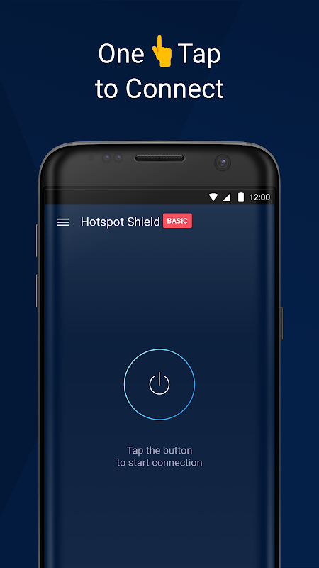 Hotspot Shield Basic - Free VPN Proxy & Privacy 6.9.4 Screen 1