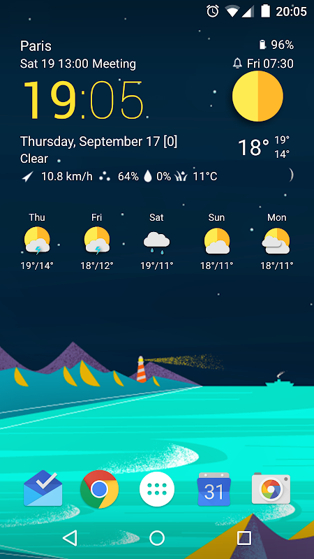 TCW material weather icon pack 0.50.04 Screen 4