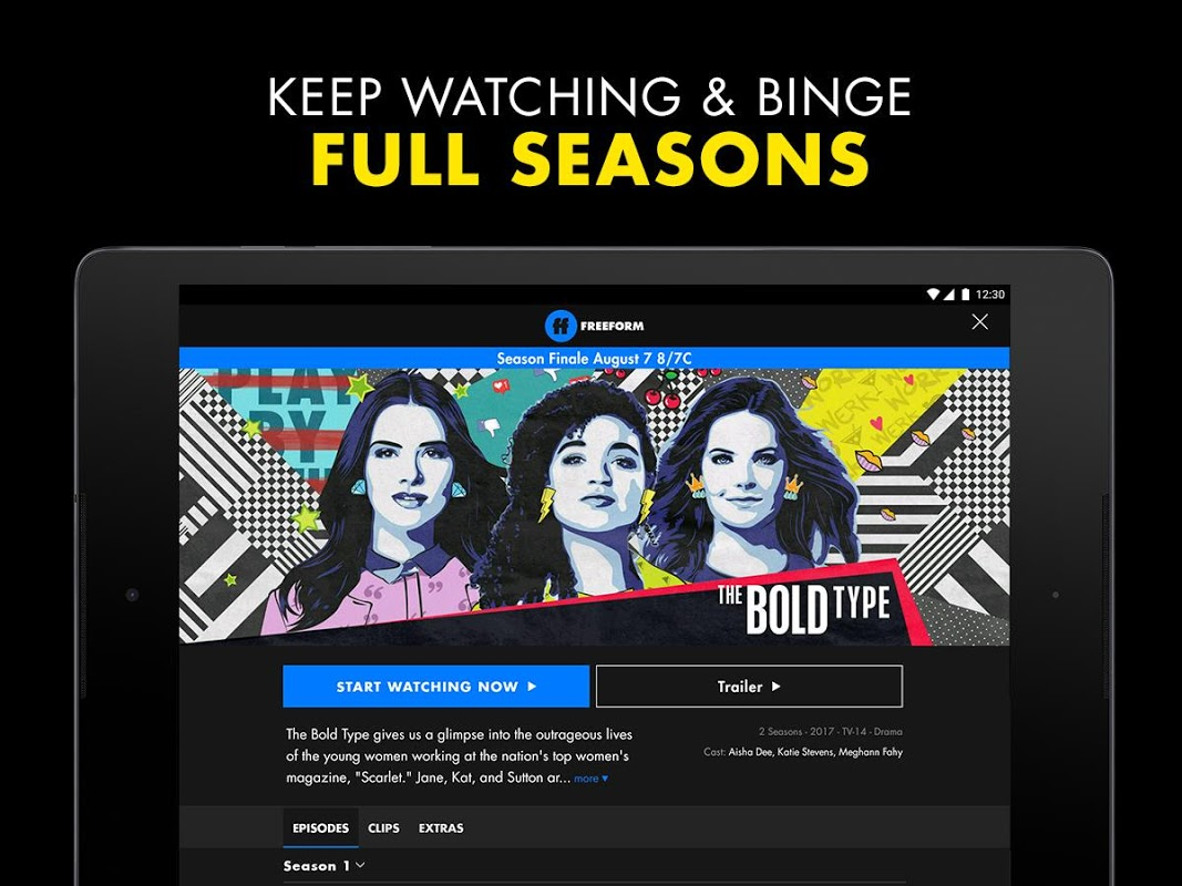 Android Freeform – Stream Full Episodes, Movies, & Live TV Screen 9