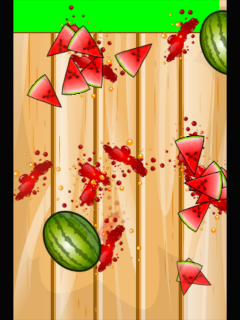 Android Watermelon Smasher Frenzy Screen 2
