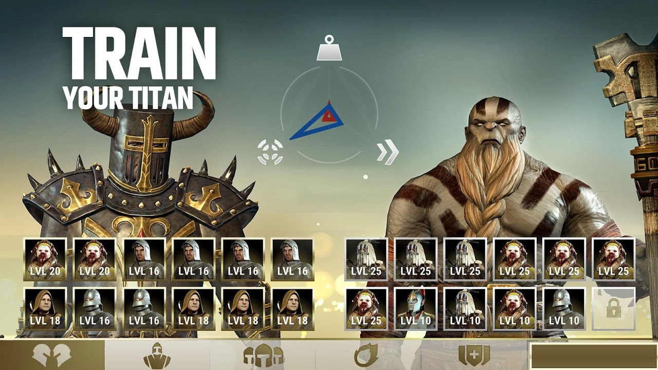 Android Dawn of Titans - Epic War Strategy Game Screen 11