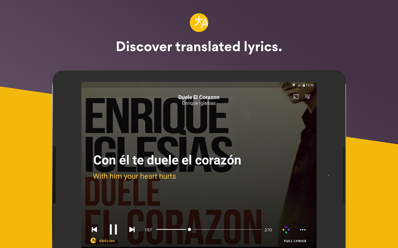 Musixmatch Lyrics 6.7.5 Screen 5
