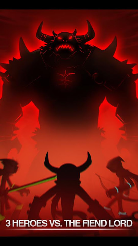 League of Stickman 2017-Ninja 4.3.3 Screen 1