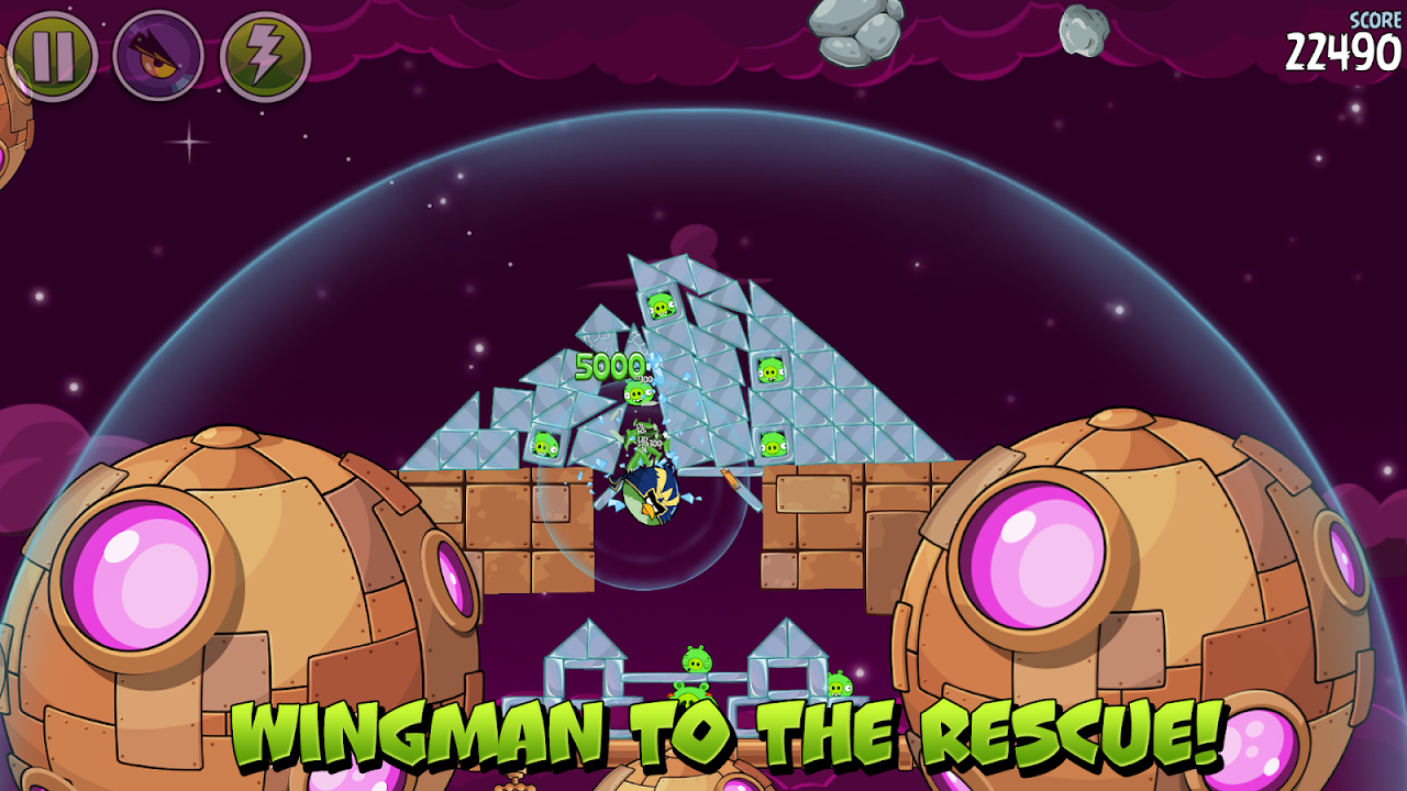 Angry Birds Space 2.2.14 Screen 12
