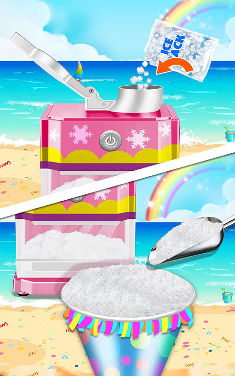 Android Food Maker! Beach Party Screen 5