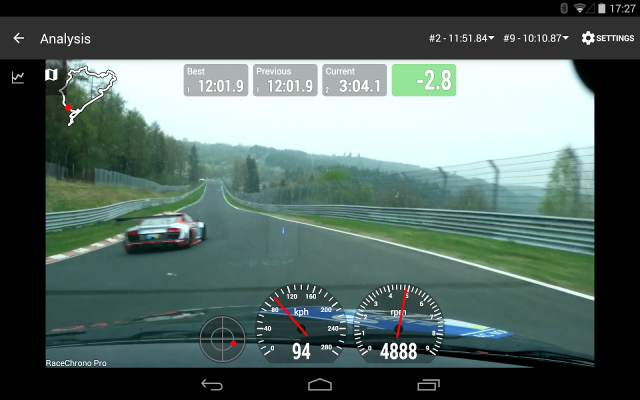 Android RaceChrono Pro Screen 18