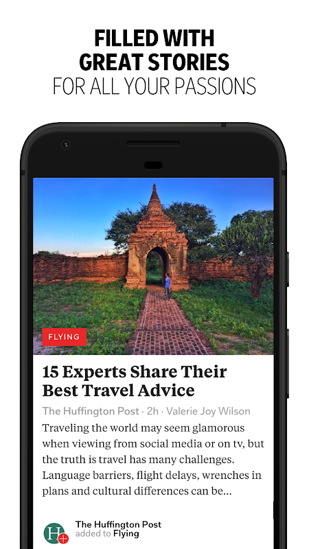 Android Flipboard: News For Any Topic Screen 2