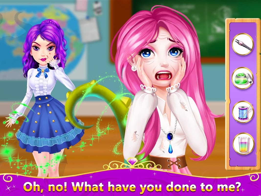 Android Magic Descendants High School: Choose Your Story Screen 3
