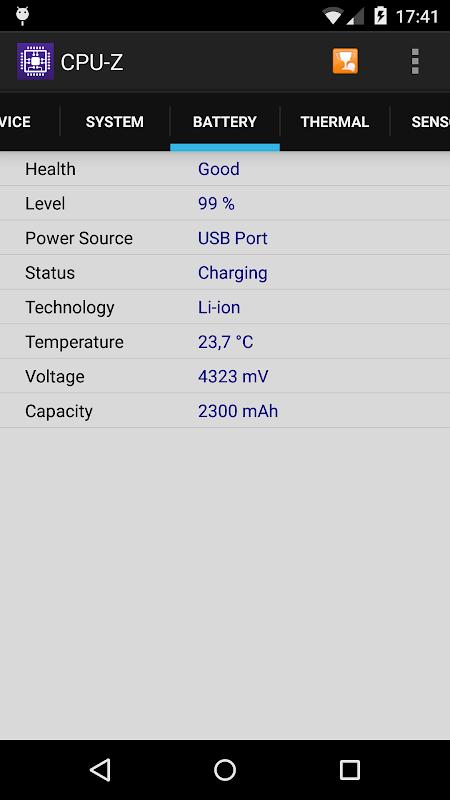 CPU-Z 1.32 Screen 3