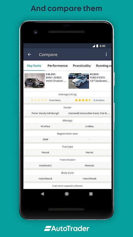 Android Auto Trader - Buy, sell and value new & used cars Screen 4