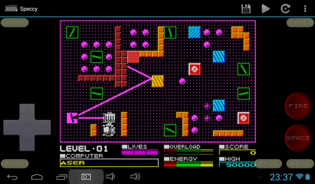 Speccy - ZX Spectrum Emulator 3.3.3 Screen 7