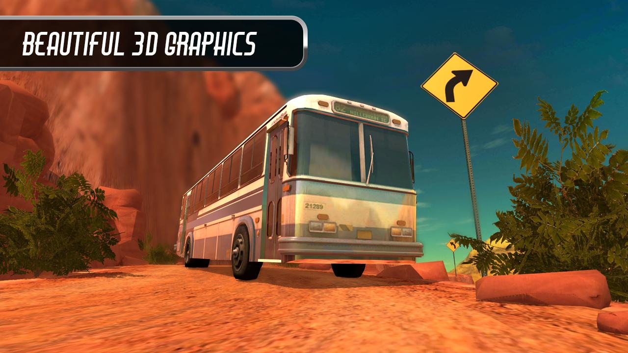 Android Bus Simulator 2016 Screen 1