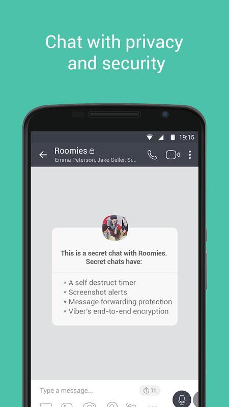 Android Viber Messenger Screen 9
